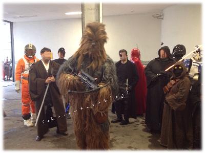 Star Wars Toon Walk