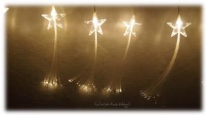 Sternen Lichtervorhang LED