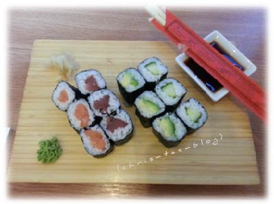 Sushi beim Bloggertreffen Rothenburg o.d.Tauber #frankenbloggertreffen
