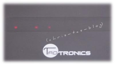 TaoTronics Touch Bedienfeld