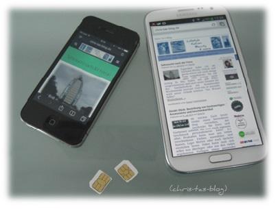 Meine Smartphones