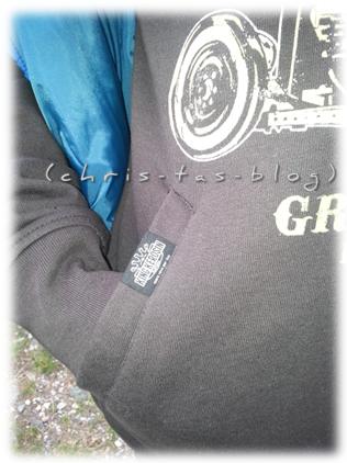 Taschen am King Kerosin Hoodie