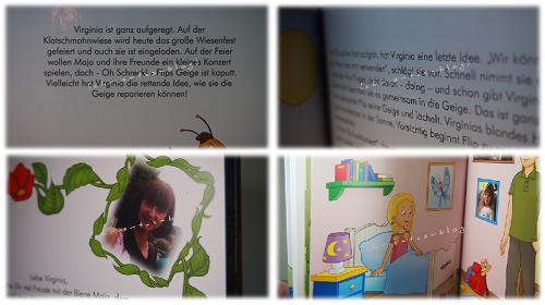 Testausschnitte Kinderbuch framily.de