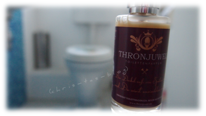 Thronjuwel -Toilettenparfum