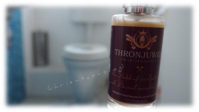 Thronjuwel -Toilettenparfum