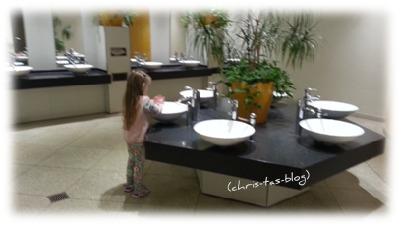 Toiletten-Waschbereich Playmobil-Funpark