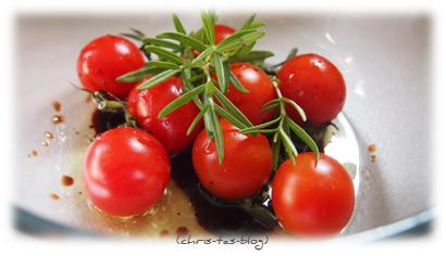 Tomaten im Backofen backen