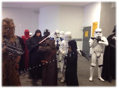 Toon Walk Star Wars