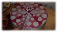 Torte mit Minni Maus