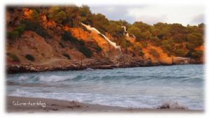 Treppe zum Strand Ibiza