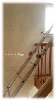 Treppenhaus wird renoviert