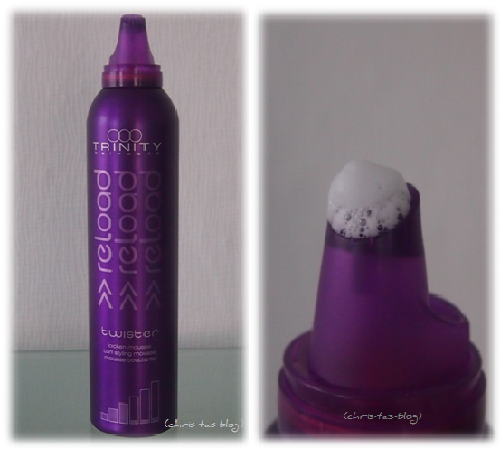 Trinity haircare reload twister locken mousse im Test