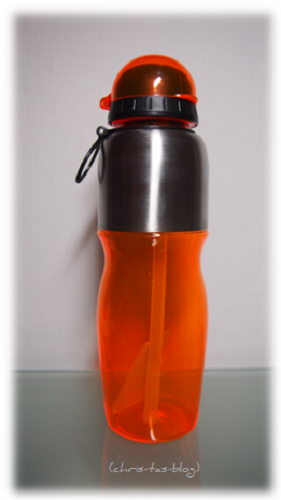 Trinkflasche in stylischem Design