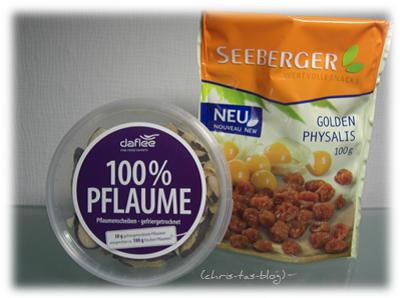 Trockenfrüchte in der Degustabox