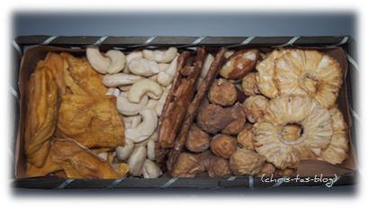 Trockenfrüchte und Cashewkerne von Purvida