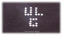 UL GlamCity Logo aus Strass
