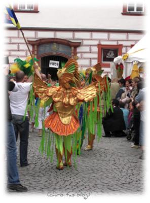 Umzug Samba Festival Coburg