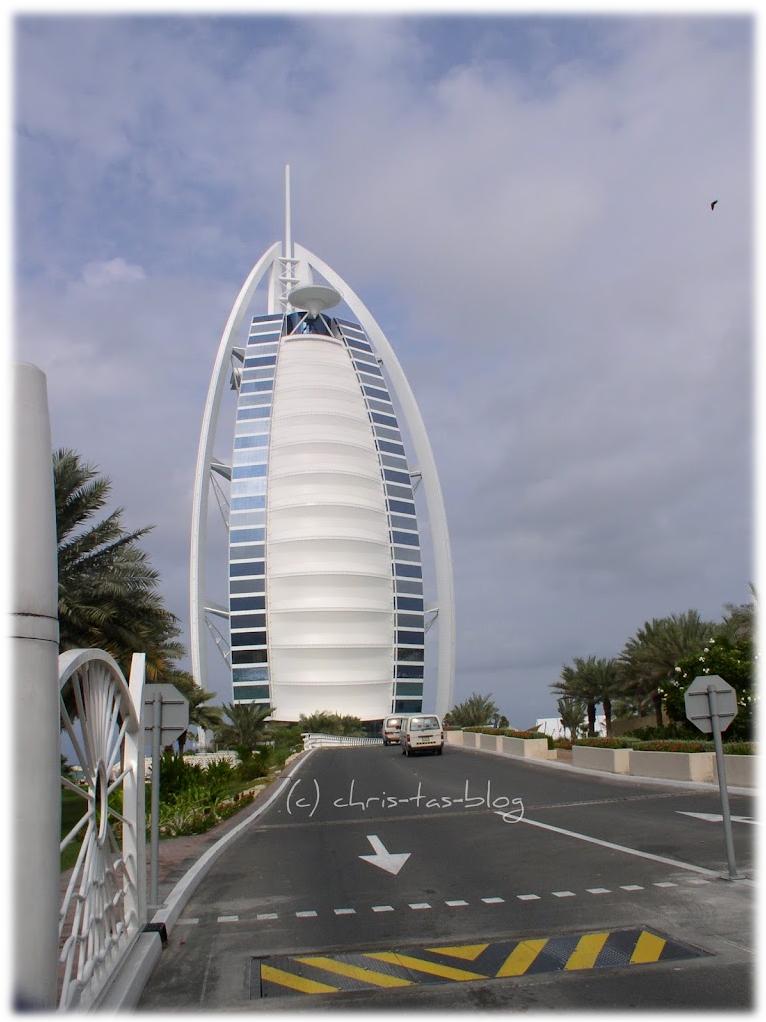 Meine Reise nach Dubai Burj al Arab