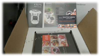 Unboxing Krups Prep and Cook