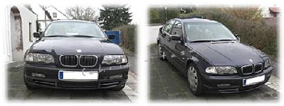 Unser BMW soll verkauft werden