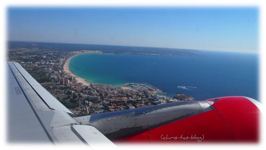 Unser Ibiza-Flug 2013