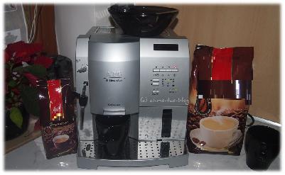Unser Kaffeeautomat in der Küche