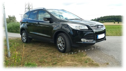 Ford Kuga pantherblack metallic
