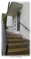 Unsere Außentreppe ist renovierungsbedürftig