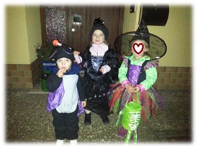 Unsere Kids an halloween 2014