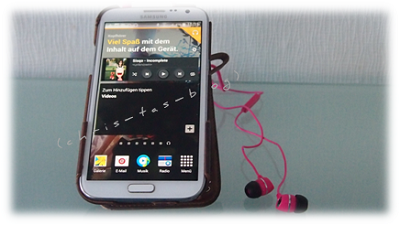V7 InEars am Smartphone