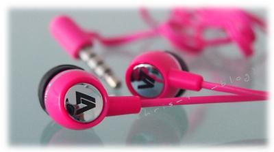 V7 InEars in pink
