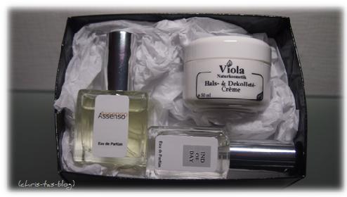Vebelle Cosmetik Testbox