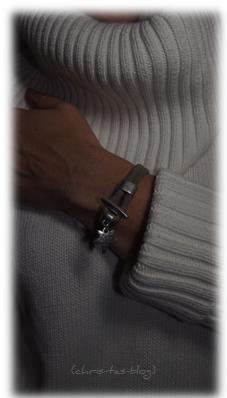 Velourleder-Armband