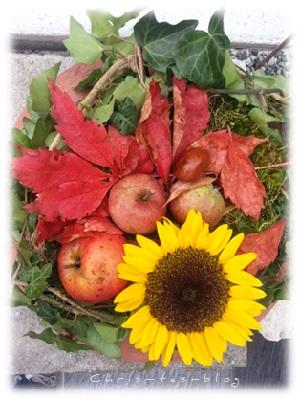 Virginia hat tolle Herbstdeko gezaubert