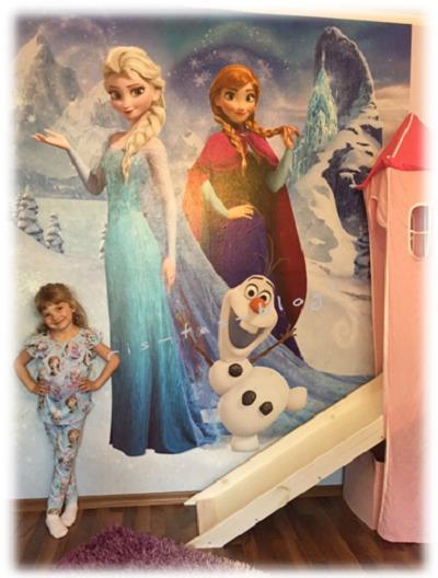 Virginia und Anna Elsa völlig unverfroren