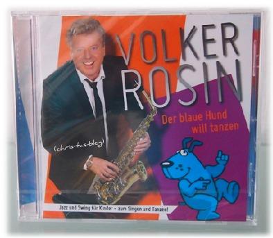 Volker Rosin CD Der blaue Hund will tanzen