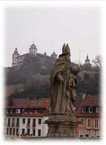 Heilige Burkard - erster Bischof Würzburgs