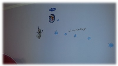 Wandstickers Disney Frozen