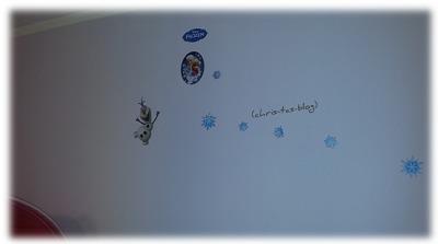 Wandstickers Disney Frozen