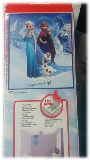 Wandtapete in 8 Teilen Disney Frozen Elsa posters.de