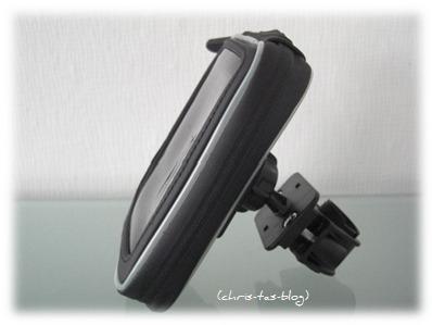 Wasserfeste Tasche für Fahrradhalterung Smartphone Navi