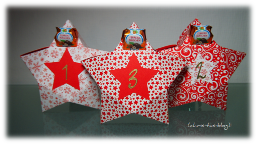 Weihnachtsbrauch Adventskalender Ferrero Kreativ-Wettbewerb