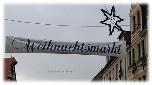 Weihnachtsmarkt in Neustadt Aisch