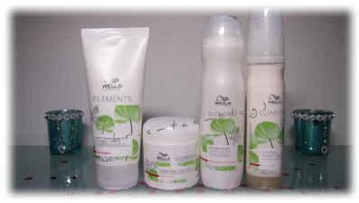 Wella Elements Gewinn kam an