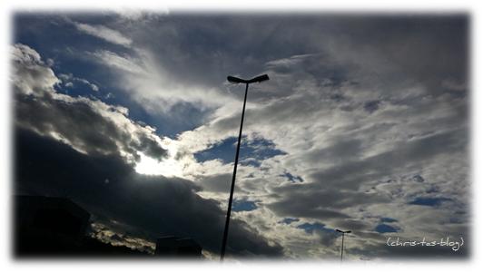 Wetterwechsel 27.10.13
