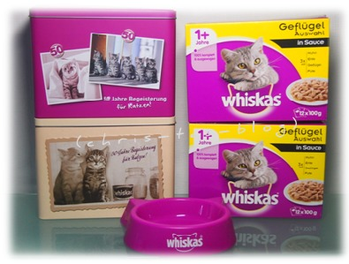 Whiskas® Futtertest