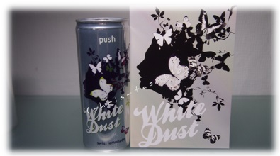 White Dust Schweizer Limonade Design
