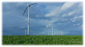 Windkrafträder Kitzingen