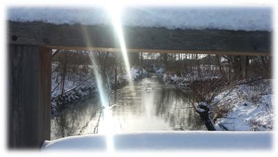 Winterlandschaft Januar 2015