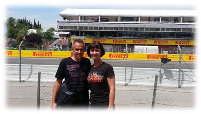 Wir beim Grand Prix Formel 1 Barcelona